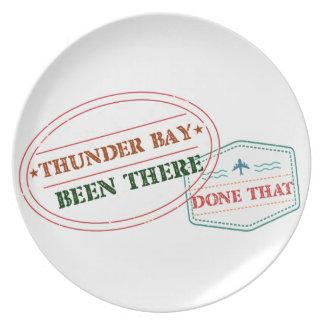 Prato De Festa Thunder Bay feito lá isso