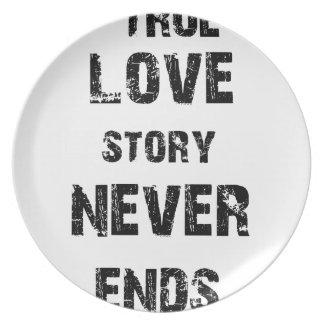 Prato De Festa uma história de amor verdadeira nunca termina