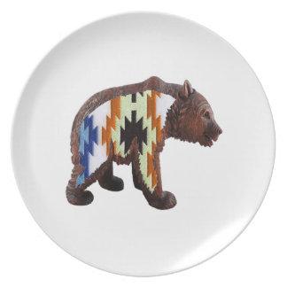 Prato De Festa Urso nativo