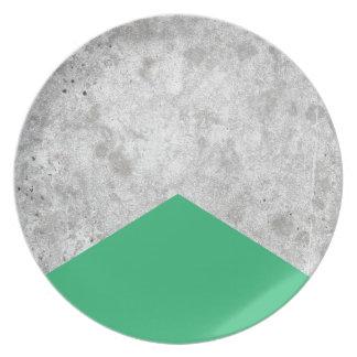 Prato De Festa Verde concreto #175 da seta