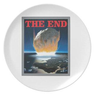 Prato De Festa vermelho a extremidade asteróide