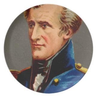 Prato De Festa Vintage de Andrew Jackson