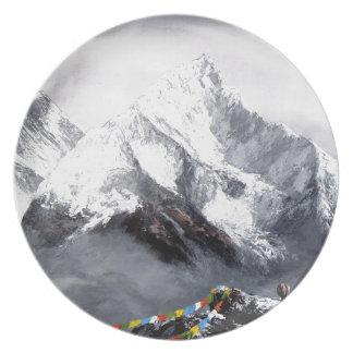 Prato De Festa Vista panorâmica da montanha de Everest