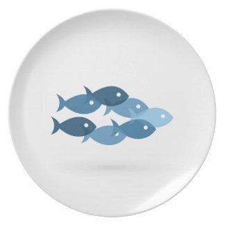 Prato De Festa Vôo de fishes5
