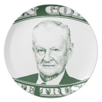 Prato De Festa Zbigniew Brzezinski no deus que nós confiamos