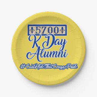 Prato De Papel 5700 placas de papel do dia de K