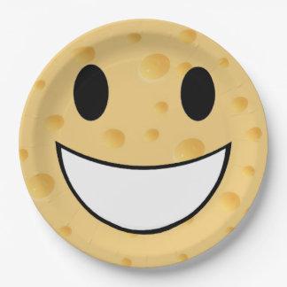 Prato De Papel a piada bonito engraçada diz o queijo