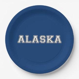Prato De Papel Alaska