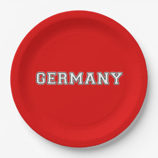 Prato De Papel Alemanha