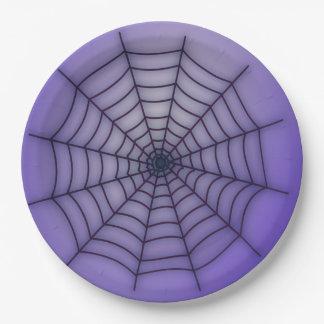 Prato De Papel Aranha-Web