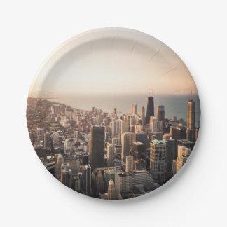 Prato De Papel Arquitectura da cidade de Chicago