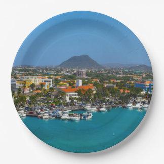 Prato De Papel Aruba