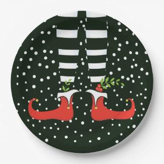 Prato De Papel As placas de papel da festa de Natal ALTA do