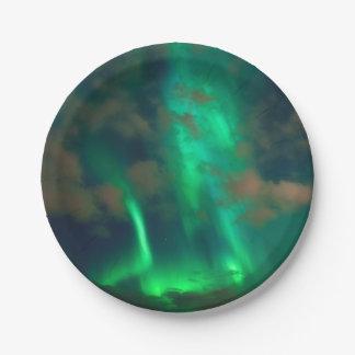 Prato De Papel Aurora boreal, Aurora Borealis
