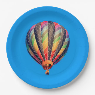 Prato De Papel Balão de ar quente