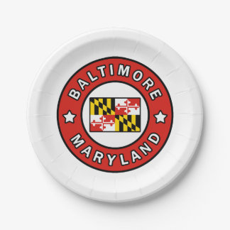 Prato De Papel Baltimore Maryland