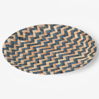 Prato De Papel Bambu tecido