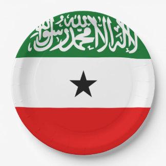 Prato De Papel Bandeira de Somaliland