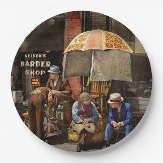 Prato De Papel Barbeiro - na barbearia 1937 de Nelson