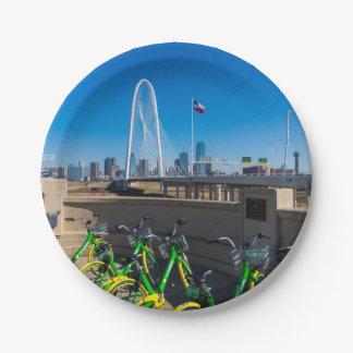 Prato De Papel Bicicletas e Dallas