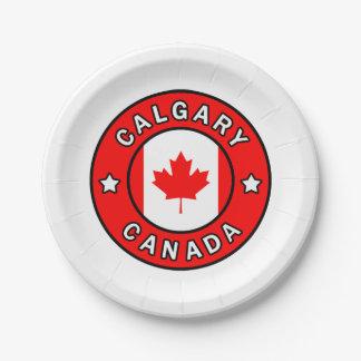Prato De Papel Calgary Canadá