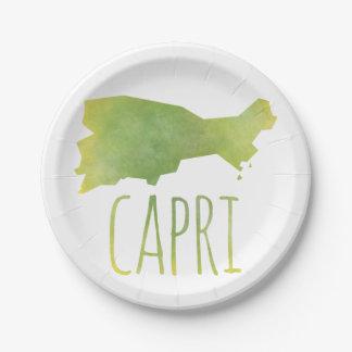 Prato De Papel Capri
