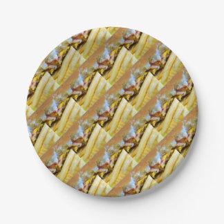 Prato De Papel Cheeseburger e fritadas