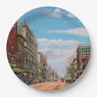 Prato De Papel Cidade - Memphis TN - alameda 1909 da rua