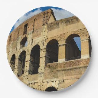 Prato De Papel Colosseum em Roma, Italia