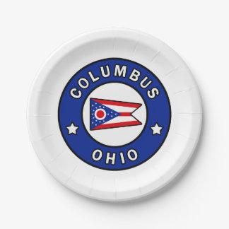 Prato De Papel Columbo Ohio