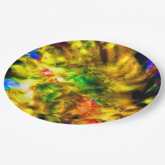 Prato De Papel cores e impressões 6