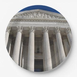 Prato De Papel Corte suprema dos Estados Unidos