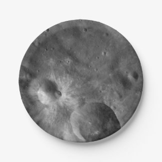 Prato De Papel Crateras asteróides de Vesta