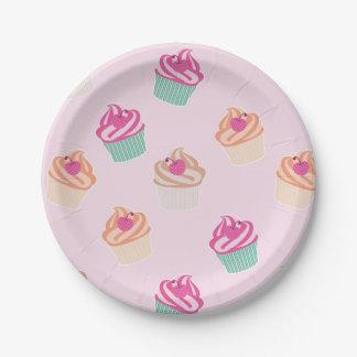 Prato De Papel Cupcakes legal