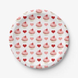 Prato De Papel cuties dos cupcakes