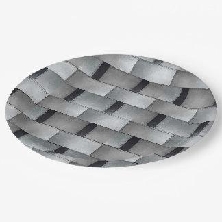 Prato De Papel Design de trabalhos do metal do cliente da placa