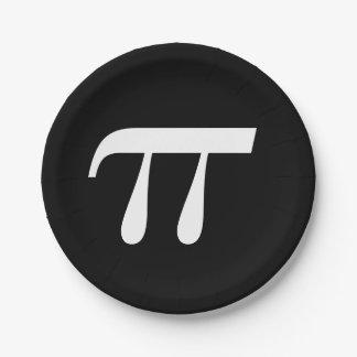 Prato De Papel Dia do Pi