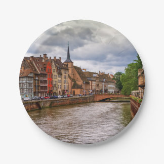 Prato De Papel Doca do Saint Nicolas em Strasbourg, France