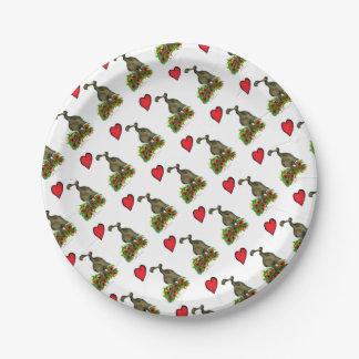 Prato De Papel dodo do amor dos fernandes tony