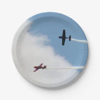 Prato De Papel Duelo do avião da asa fixa de Airshow