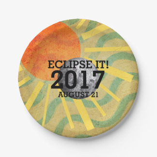 Prato De Papel Eclipse do T ele
