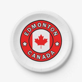 Prato De Papel Edmonton Canadá