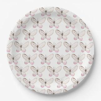 Prato De Papel Elegante coram as placas de papel de teste padrão