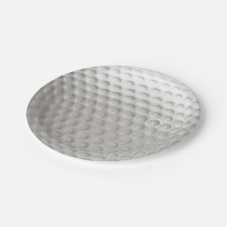 Prato De Papel Esporte da bola de golfe
