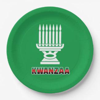 Prato De Papel Esta é placas de papel do partido de Kwanzaa