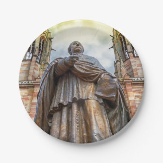 Prato De Papel Estátua de Charles-Emile Freppel, Obernai, France
