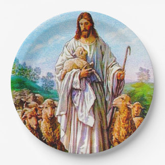 Prato De Papel Eu sou o bom 10:7 de John do pastor - 21