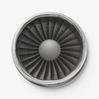 Prato De Papel Fã da turbina do motor de jato