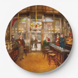 Prato De Papel Farmácia - a farmácia 1910 de Congdon