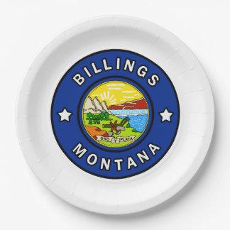 Prato De Papel Faturamentos Montana